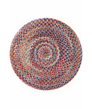 RugStudio presents Dash And Albert Cats Eye 81764 Braided Area Rug